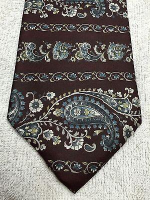 Sensibile Barrington Uomo Cravatta Paisley Design 59 X 4