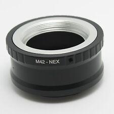 N M42 screw Zenit Zeiss Lens to Sony E mount adapter NEX-7 5T A6000 A7 A7R A5100