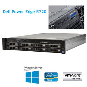 Details about Dell PowerEdge R720 2 x E5-2660 8 Core 2 2Ghz 96GB RAM H710p  8 x Caddy Rails