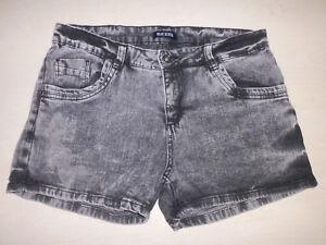 Jeans-Kurze-Jeans-Shorts-Gr-176-Blue-Seven-Gr-36-38
