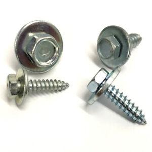 14-X-3-4-034-HEX-HEAD-ACME-SCREW-TAPPER-TAPPERS-SCREWS-CAPTIVE-WASHER-QTY-25-STW4