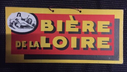 ANTIQUE CARTON ADVERTISING BEER THE LOIRE