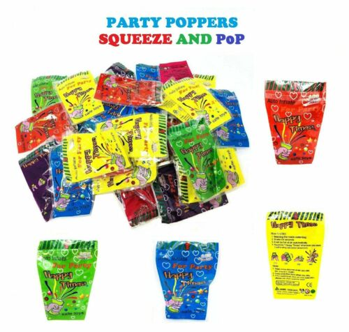 Party popper Party Goody bag fillers Self inflatable Cracker Pop Hen prank
