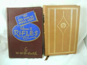 2 Books on Guns Shotguns Elmer Keith Rifles Walter Smith