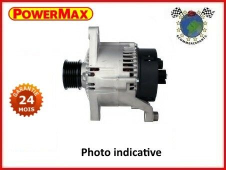 XF4PPWM Alternateur PowerMax FIAT GRANDE PUNTO Essence 2005>