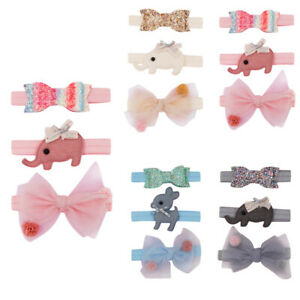 3PCS-Kids-Floral-Headband-Girls-Baby-Fashion-Bowknot-Accessories-Hairband-Set