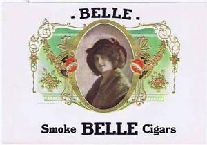 Belle Original Cigare Boîte Label 588ms Howell Litho Company 7da33eX7-09090103-257927324
