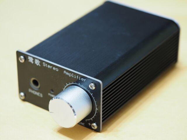 Headphone amplifier assembled w/housing based on Grado RA-1  !