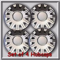 4 16 Ford Crown Victoria Hubcaps, 2003-2008 Ford Crown Vic Police Wheel Covers