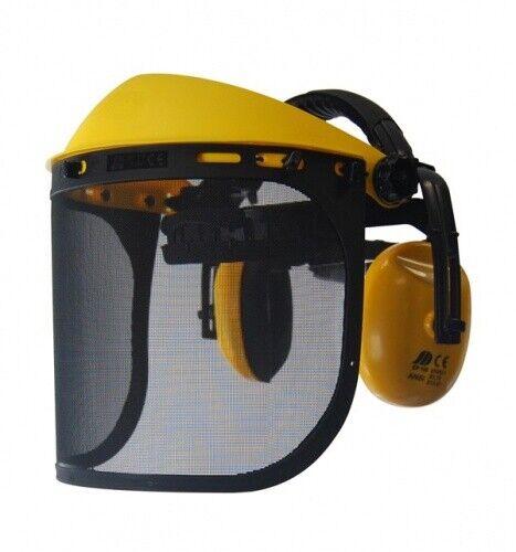 OZAKI Profi Gesichtsschutzschirm Schutzschirm Gesicht Masche Gehörschutz