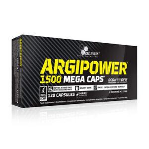 OLIMP-120-Caps-ARGI-POWER-1500-MEGA-Pump-Kapseln-Arginin-Kapseln