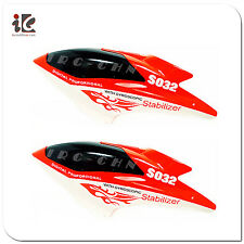 2X HEAD COVER CANOPY FOR SYMA S032 RC HELICOPTER SPARE PARTS S032-01