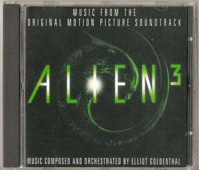 Alien 3 CD - Original Soundtrack - Elliot Goldenthal - Film Score - Rare and OOP