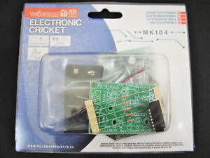 Details about Electronic Cricket Noise Maker - DIY Soldering Mini Kit  Project - Velleman MK104