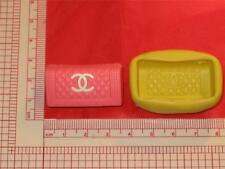 Bag Purse Silicone Mold 733 For Fondant Cake Topper Polymer Clay Chocolate Candy
