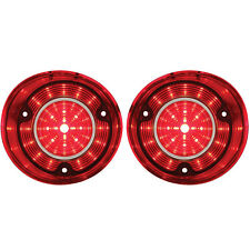 1972 Chevrolet Chevelle SS & Chevy Malibu 46 Red LED Tail Light, Set