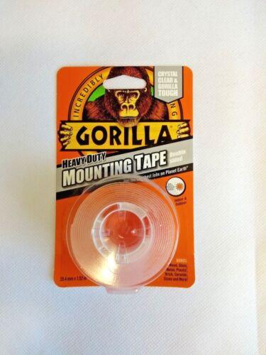 Gorilla resistente cristalina de doble cara cinta de montaje Interior & Al Aire Libre