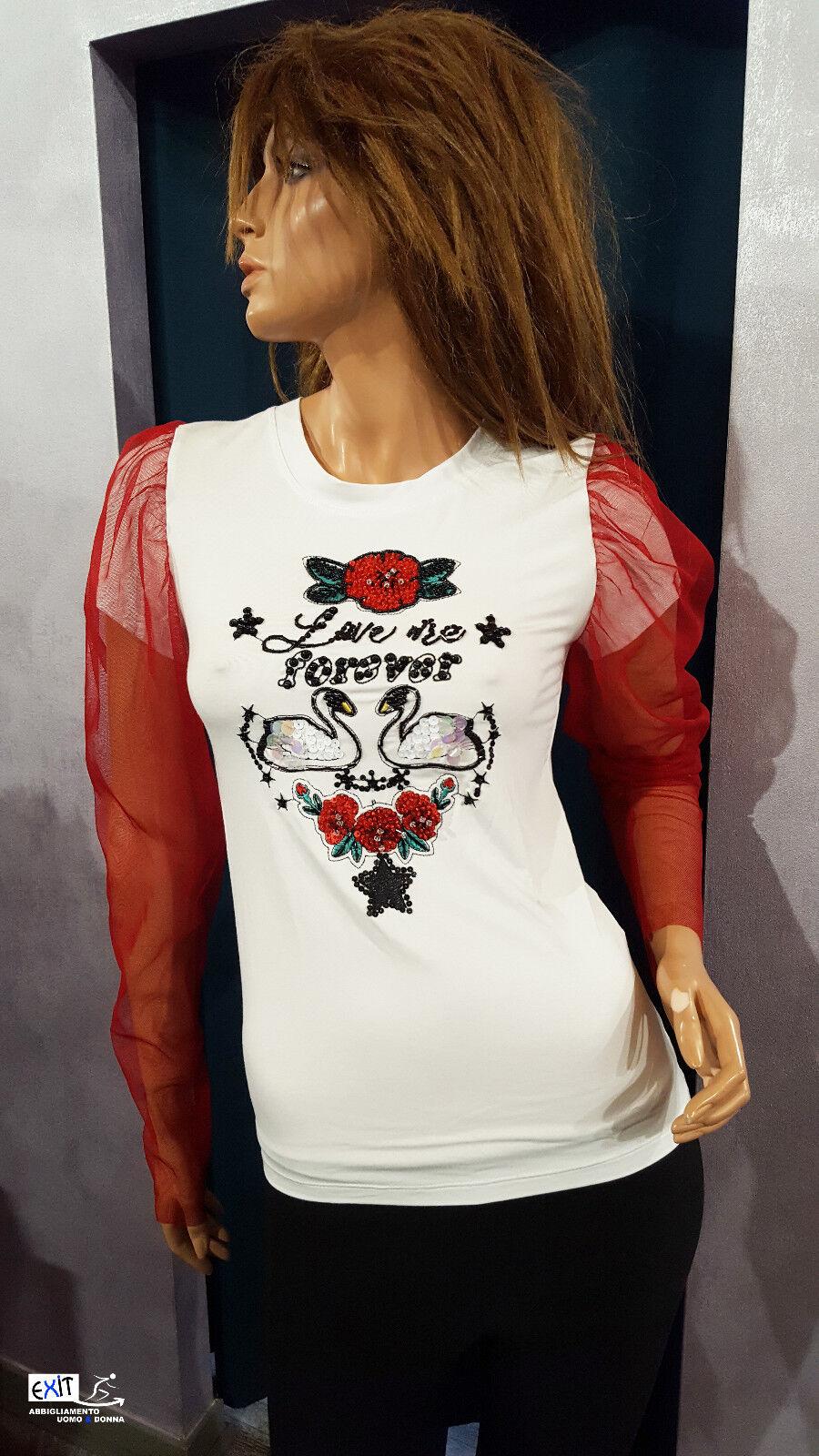 Denny Rosa t-shirt limited edition art. 721DD60002 collezione aut.-inverno 2017