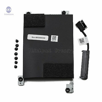 Bfenown Replacement SATA Hard Drive HDD Caddy Bracket with HDD Connector Adapter D80V4 for Dell Latitude E5420 E5520 E5220