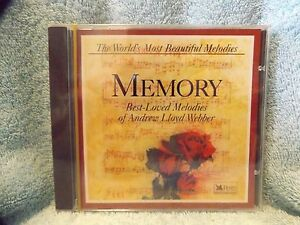 Memory-Best-Loved-Melodies-of-Andrew-Lloyd-Webber-Reader-039-s-Digest-CD-Sealed