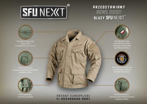 HELIKON TEX SPECIAL FORCES SFUNEXT Army Combat Tactical Outdoor Jacke Oliv