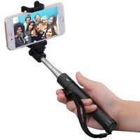 Pro Selfie Stick Built-in Bluetooth For Straight Talk Huawei H215g Magna Raven