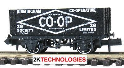 Peco NR-201 N Gauge Wagon Loads Coal Black Pk 4