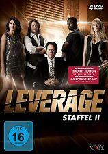 4 DVDs *  LEVERAGE - STAFFEL 2 - Timothy Hutton  # NEU OVP &