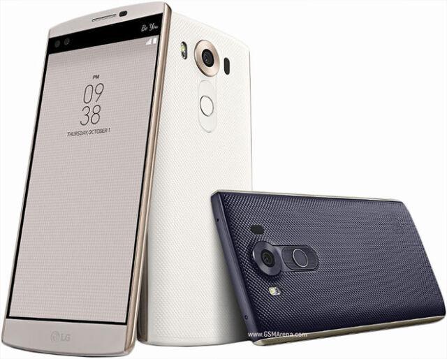 "LG V10 H900 4G LTE 64GB 5.7"" 16MP GPS GSM Unlocked Black/White"