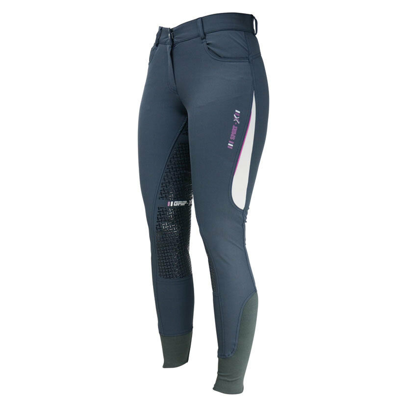 Hy PERFORMANCE Hy SPORT Dynamic Ladies Breeches Stretch Sport Silicon Seat 26-34