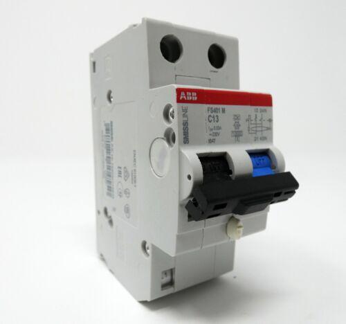unused ABB FS401 M C13  FS401M-C13//0.03 Fehlerstrom-Schutzschalter