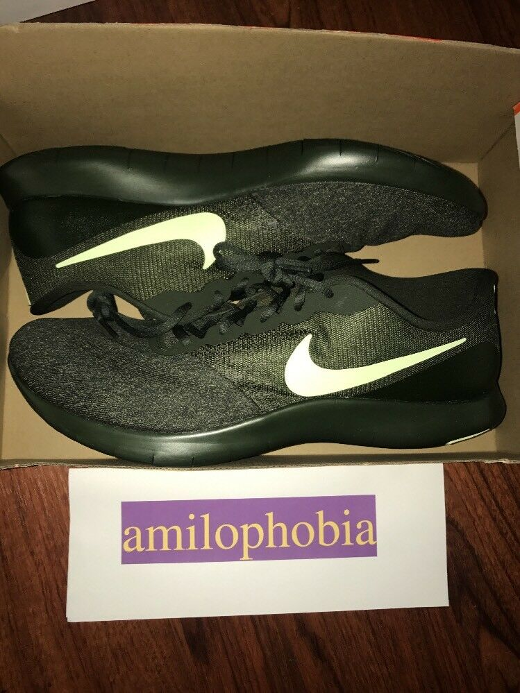 New Men's Nike Flex Contact Size 14 Sequoia Volt Running Shoes