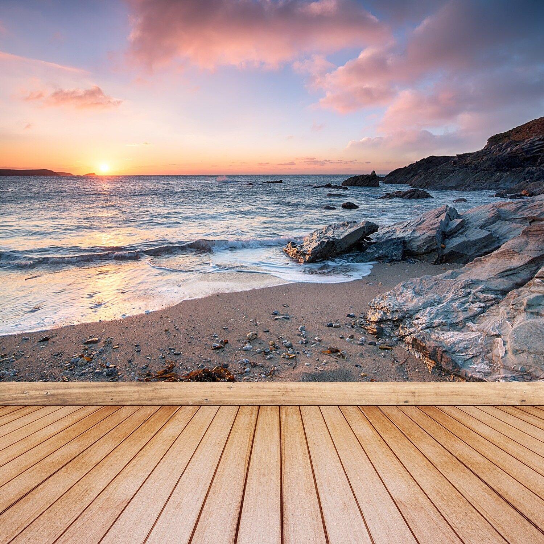 Fototapete Selbstklebend Einfach ablösbar Mehrfach klebbar Strand Meer