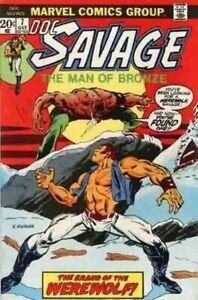 Doc-Savage-Vol-1-Marvel-7-VFN-VyFne-Plus-Marvel-Comics-ORIG-US