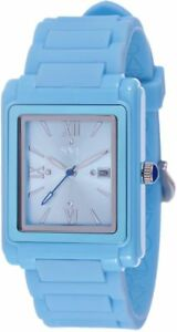 New-Girls-Ladies-SAL-Y-LIMON-SYL-Baby-Blue-5ATM-Silicon-Swiss-Watch-RRP-49-99