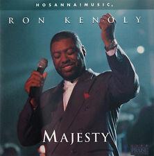 Ron Kenoly - Majesty CD 1998 Hosanna! Music Praise & Worship
