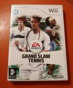 NINTENDO-WII-GAME-GRAND-SLAM-TENNIS-LOVELY-CONDITION-WITH-MANUAL-3-EA-SPORTS