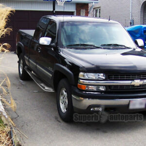 Chevy Silverado Side Steps >> Details About For 1999 2018 Chevy Silverado Sierra Extended Cab S S Side Step Nerf Bar
