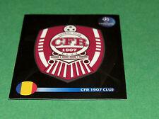 213 BADGE CFR CLUJ ROMANIA UEFA PANINI FOOTBALL CHAMPIONS LEAGUE 2008 2009