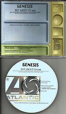 GENESIS Not about us PRCD 8343 PROMO Radio  DJ CD single 1997 MINT