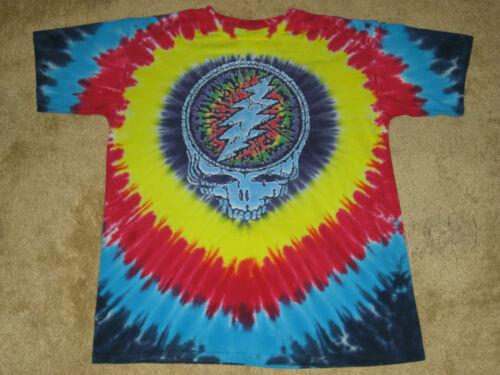 M 2XL Tie Dye T-Shirt Grateful Dead Raindrops S L XL