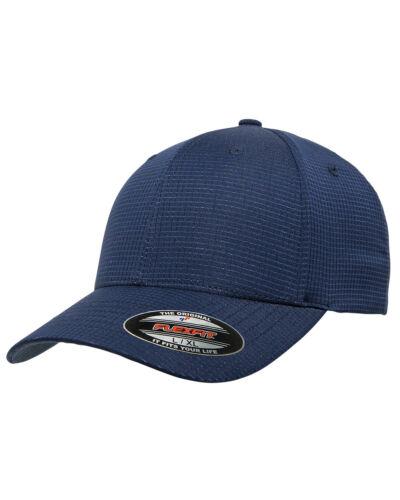Flexfit Adult Hydro Grid Water Resistant Stretch Cap plank hat baseball
