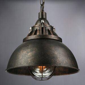 Cast Iron Dome Pendant Light