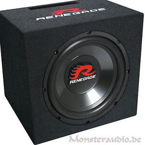 Renegade-RXV-1200-30cm-Subwoofer-600-Watt-12-034-Bassreflex-Basskiste-PKW-Bassbox