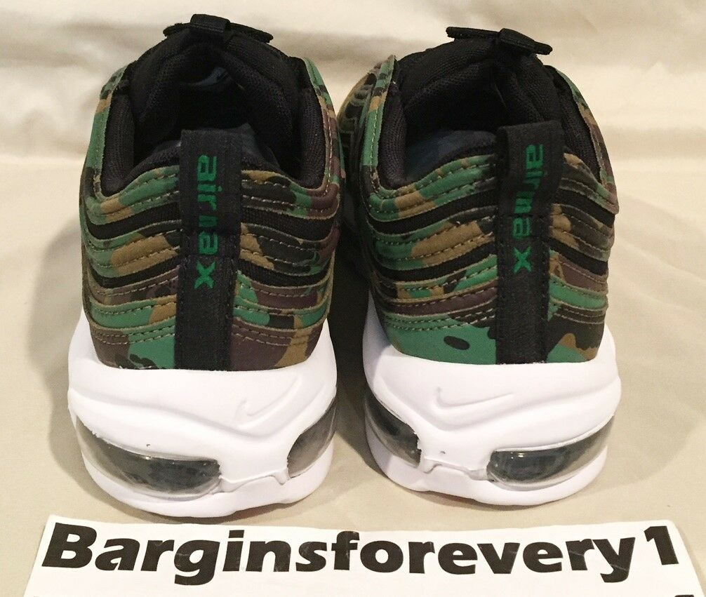 detailed look 73441 c2b7b ... New Nike Air Max Max Max 97 Premium QS UK Camo - Size 6 - Green ...