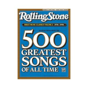 Rolling Stone Sheet Music Classics Vol 2 1970s-1990s Piano, Vocal of Guitar Book