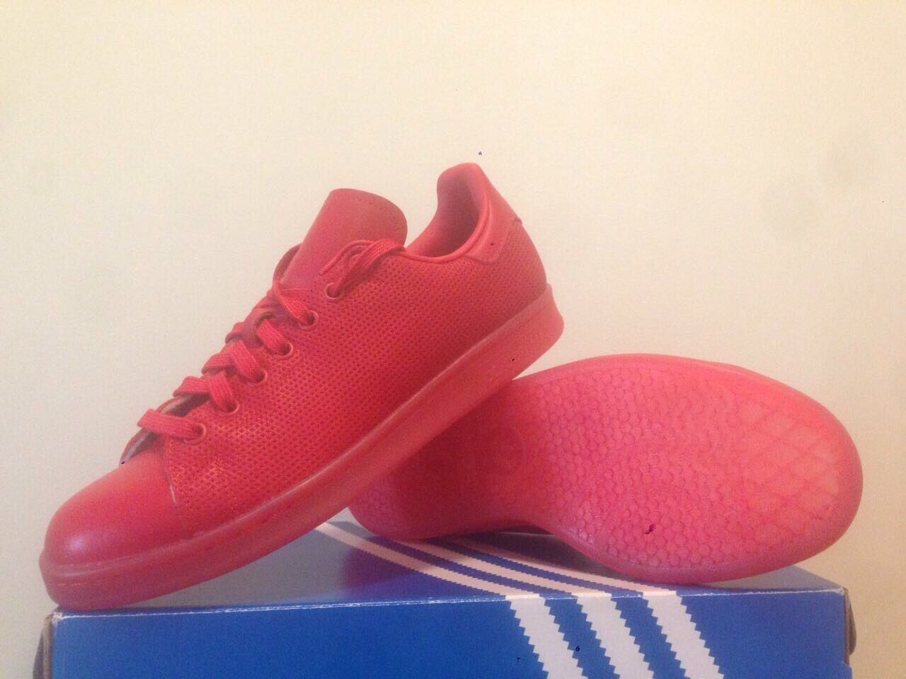 Adidas Stan Smith Adicolor  ( Red ) M Men size 10  NIB