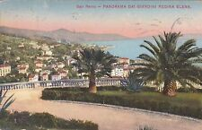 SAN REMO - Panorama dai Giardini Regina Elena 1916