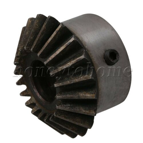 2pcs 14mm Bore 45# Steel Umbrella Tooth 90° Pairing Bevel Gear 20 Teeth