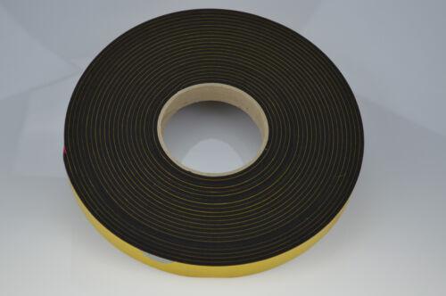 2mm dick Zellkautschuk EPDM Moosgummi 0,450€//m 30mm breit 2B Moll,10m